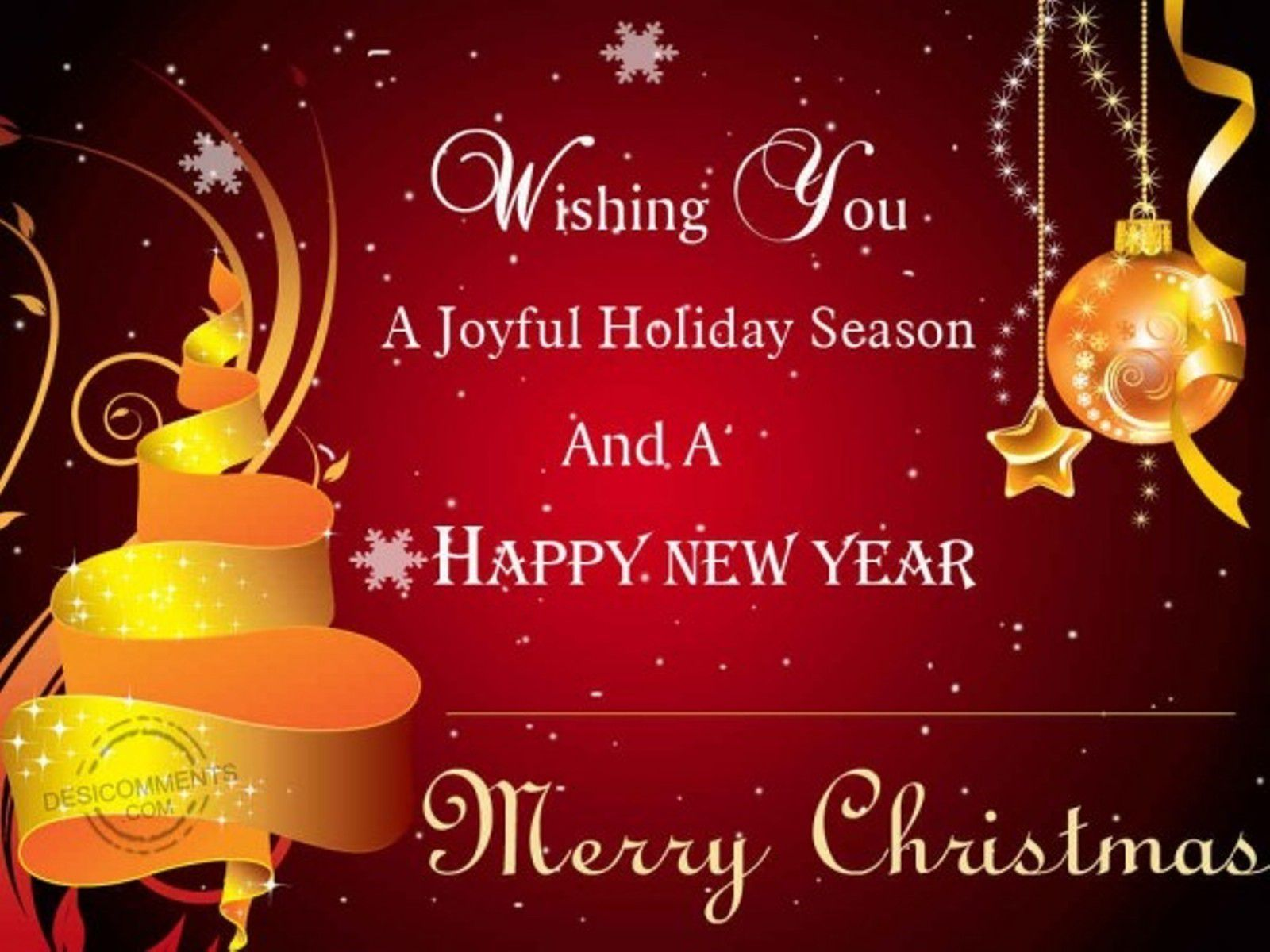 Wishing you happy merry xmas happy new year pinterest merry merry christmas wallpapers kristyandbryce Images