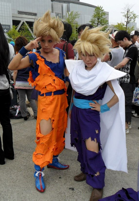 I Would Be A Enough Nerd To Totally Do This For Or Mtac Next Asian Hairfree Animedragonscostumeawesome Cosplaydragon Ball