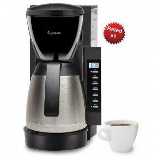 Capresso Cm300 Thermal Coffee Maker 1st In