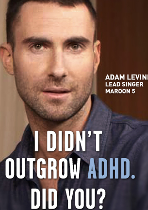 Oh, I love that he is speaking out about his experience with ADHD. Kids (and their parents) need to hear success stories. #adhd #adultadhd