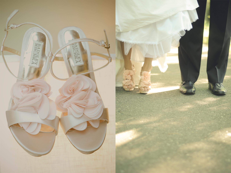 Lovely my badgley mischka bridal shoes