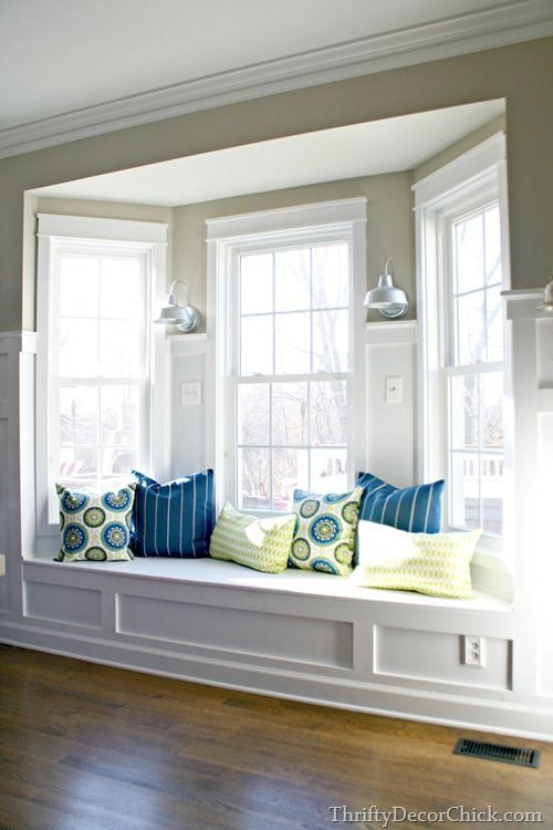 Bay Window Seat Ideas Bay Window Seat Living Room Room Family Room