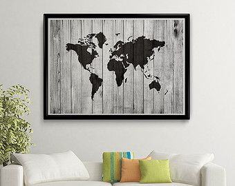 Map of the world map poster download map wood texture printable map of the world map poster download map wood by sunnyrainfactory gumiabroncs Image collections