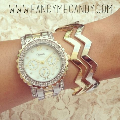 Fancy Me Candy | Gold Silver Chic Stack