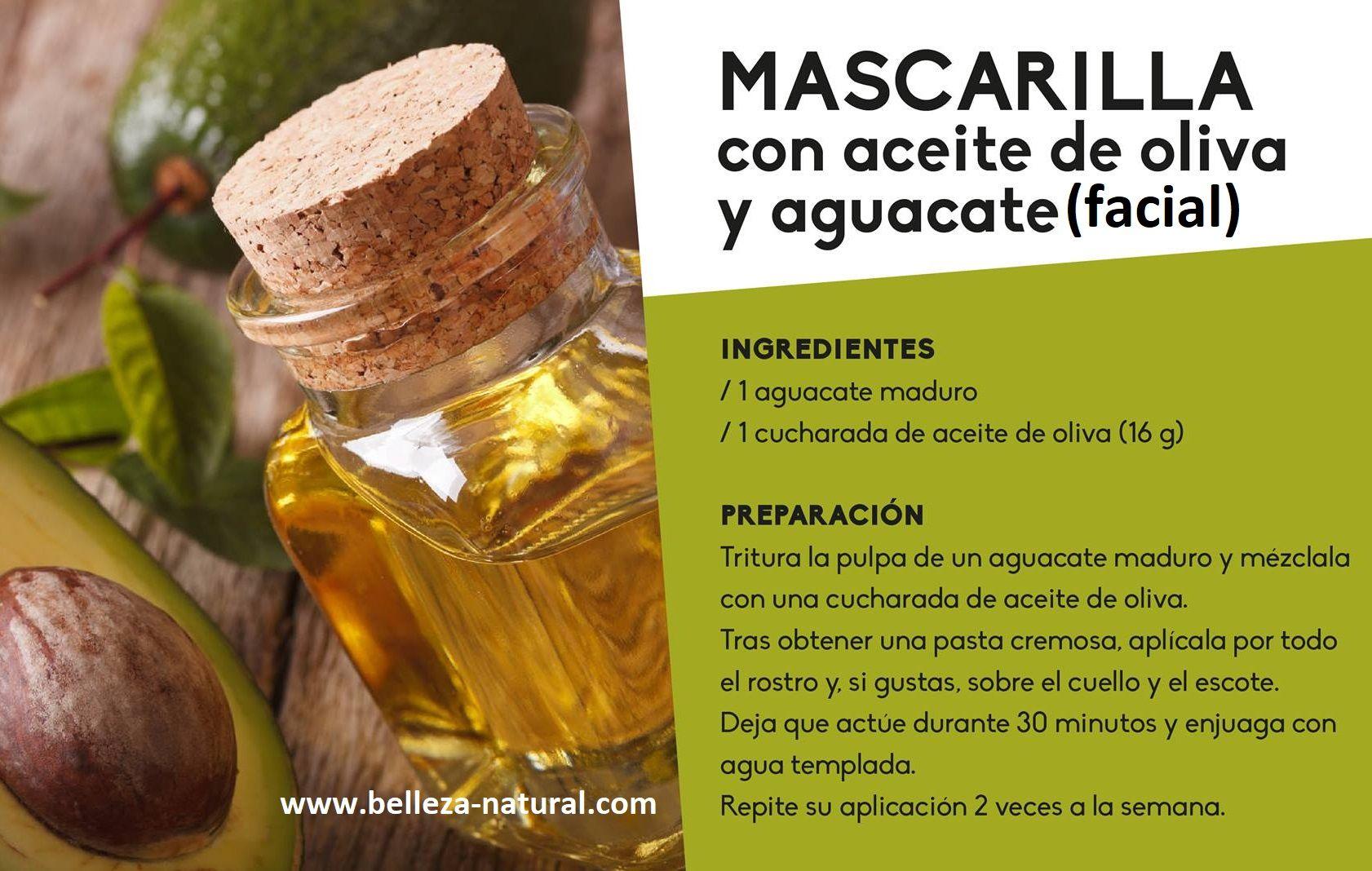 Mascarilla De Aguacate Y Aceite De Oliva Para La Cara Mascarillas De Aguacate Recetas De Belleza Tips De Belleza Naturales