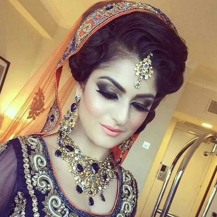 Beautiful Dulhan Makeup Pic