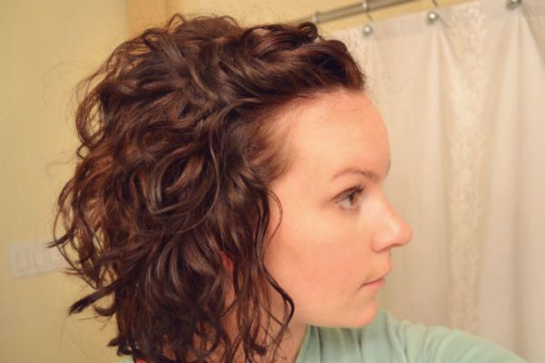 Curly Hair Hack How To Use Bobby Pins For Bigger Hair