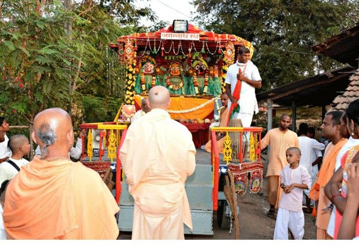 Chariot Festival at Galtare