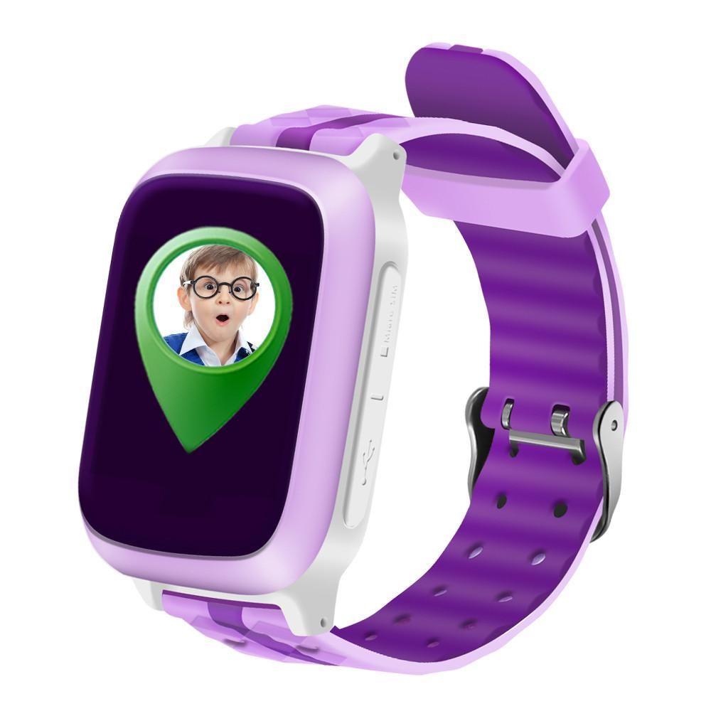 Kids Smart Watch Phone GPS Tracker Call/SOS/SIM Card Slot