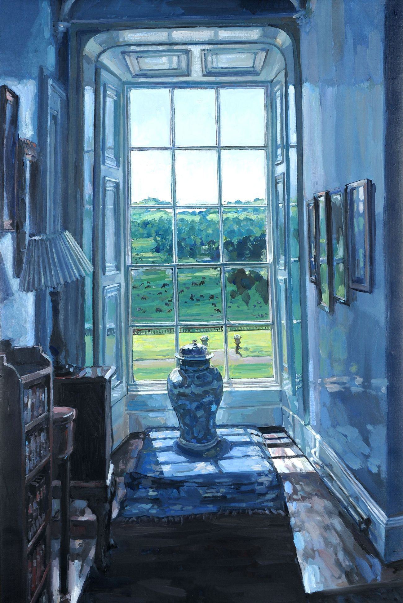 Hector Mcdonnell Window Art Contemporary London Painting