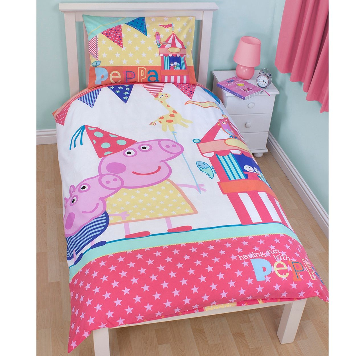 Disney Peppa Pig Bedding Set At Debenhams Com Single Duvet