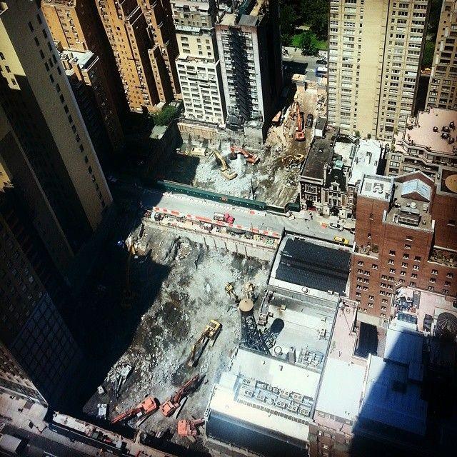 @newyorkyimby - Excavation making major headway at 217 West... - EnjoyGram