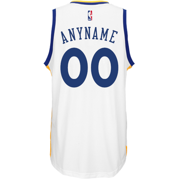 Custom Home Jersey  adidas White Swingman Golden State Warriors NBA Jersey  - Golden State Warriors dd1f1b6c7