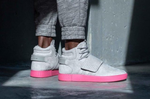 Adidas Tubular Invader Strap Grey Bb8391 Schoenen Sneakers Mode Addidas Schoenen