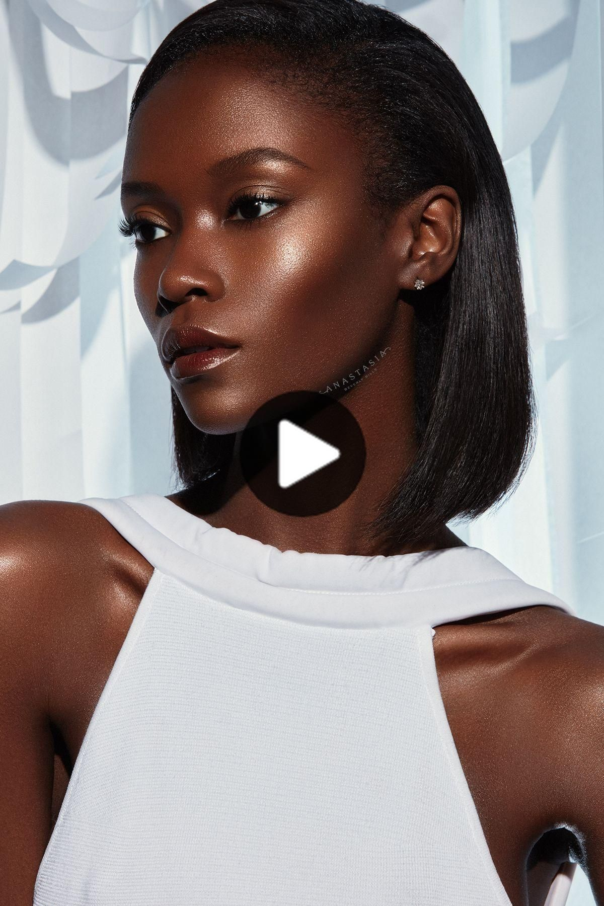 Anastasia Liquid Glow Peach Fizz in 2020 Dark skin