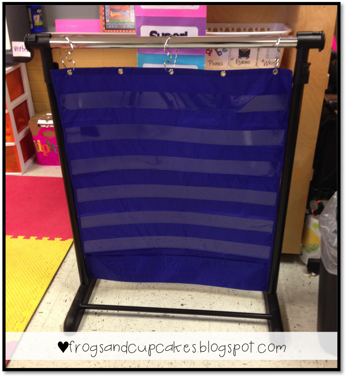 Tales of frogs and cupcakes pocket chart stand preschool