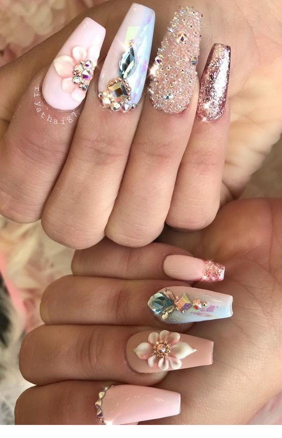 Gorgeous Nail Art Trends And Ideas In 2020 Gorgeous Nails Bling