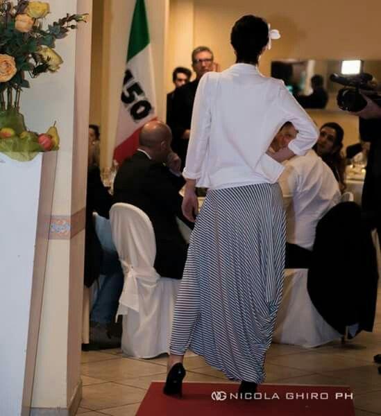 Viceversa brand made in italy Trousers harem pants Pantalone harem ...