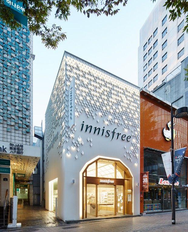 Shop Front Design Retail: Innisfree Exterior