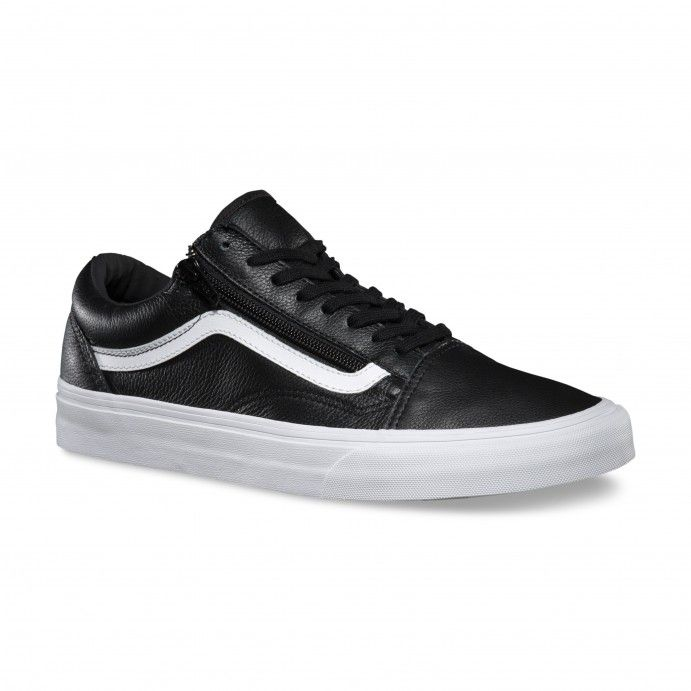 vans old school black pelle
