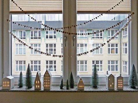Fensterdeko: Schöne Ideen zum Dekorieren