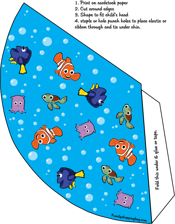 Pin by Crafty Annabelle on Finding Nemo Printables