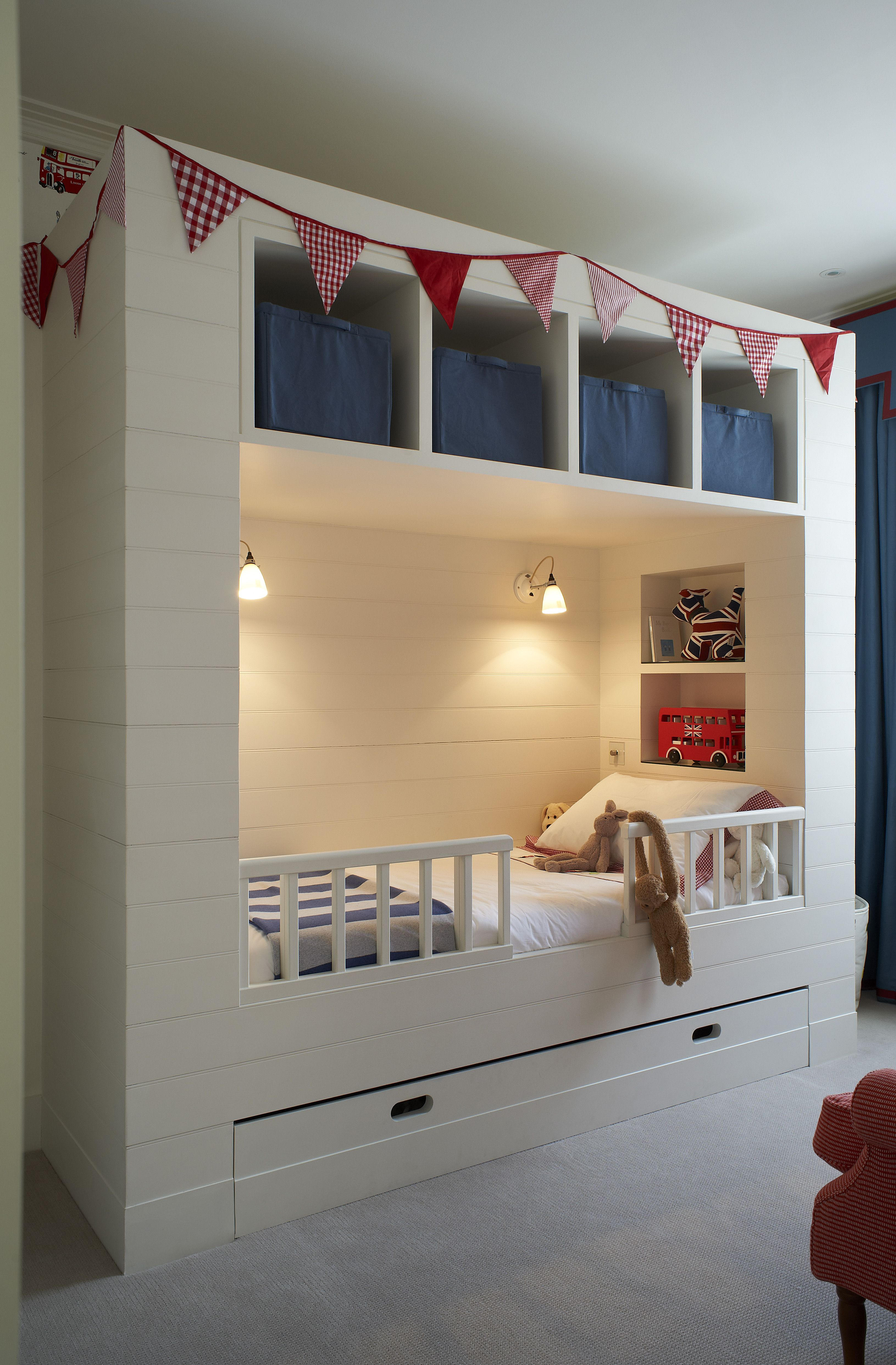 Turner Pocock kids bedroom joinery  Small kids room, Beds for