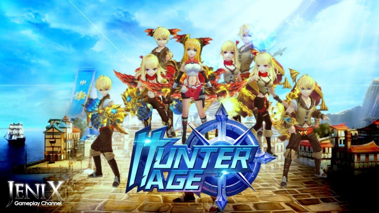 Hunter age fantasy land gameplay open world mmorpg