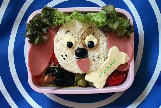 criatividade no sanduiche