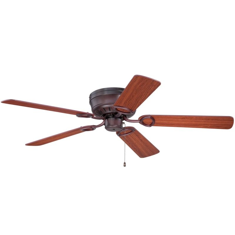 """Craftmade PUH52OB Oiled Bronze Pro Universal Hugger 44"""" - 52"""" 5 Blade Flush Mount Ceiling Fan - Requires Blade Selection"""