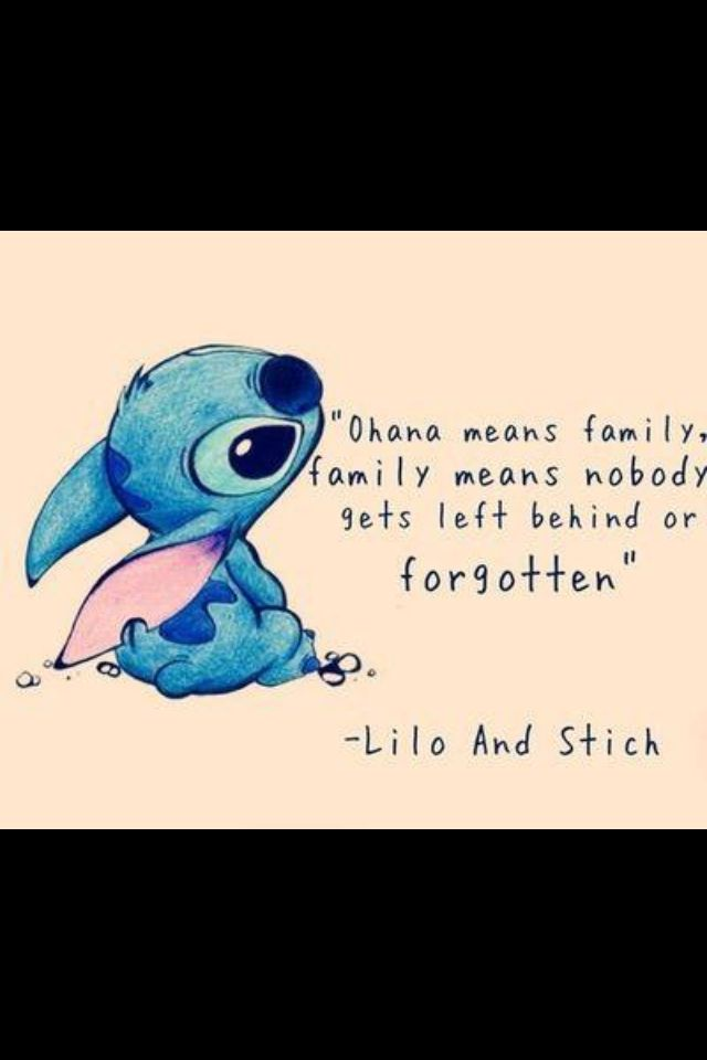 Disney Lilo And Stitch Quotes Pillow Case Two Sides 20 X 20