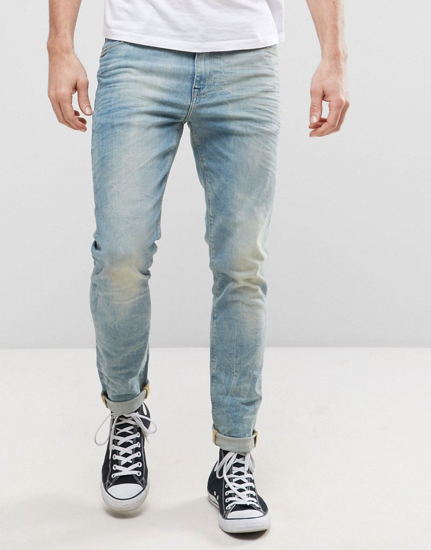 a575ff3312 Get this Asos s skinny jeans now! Click for more details. Worldwide  shipping. ASOS