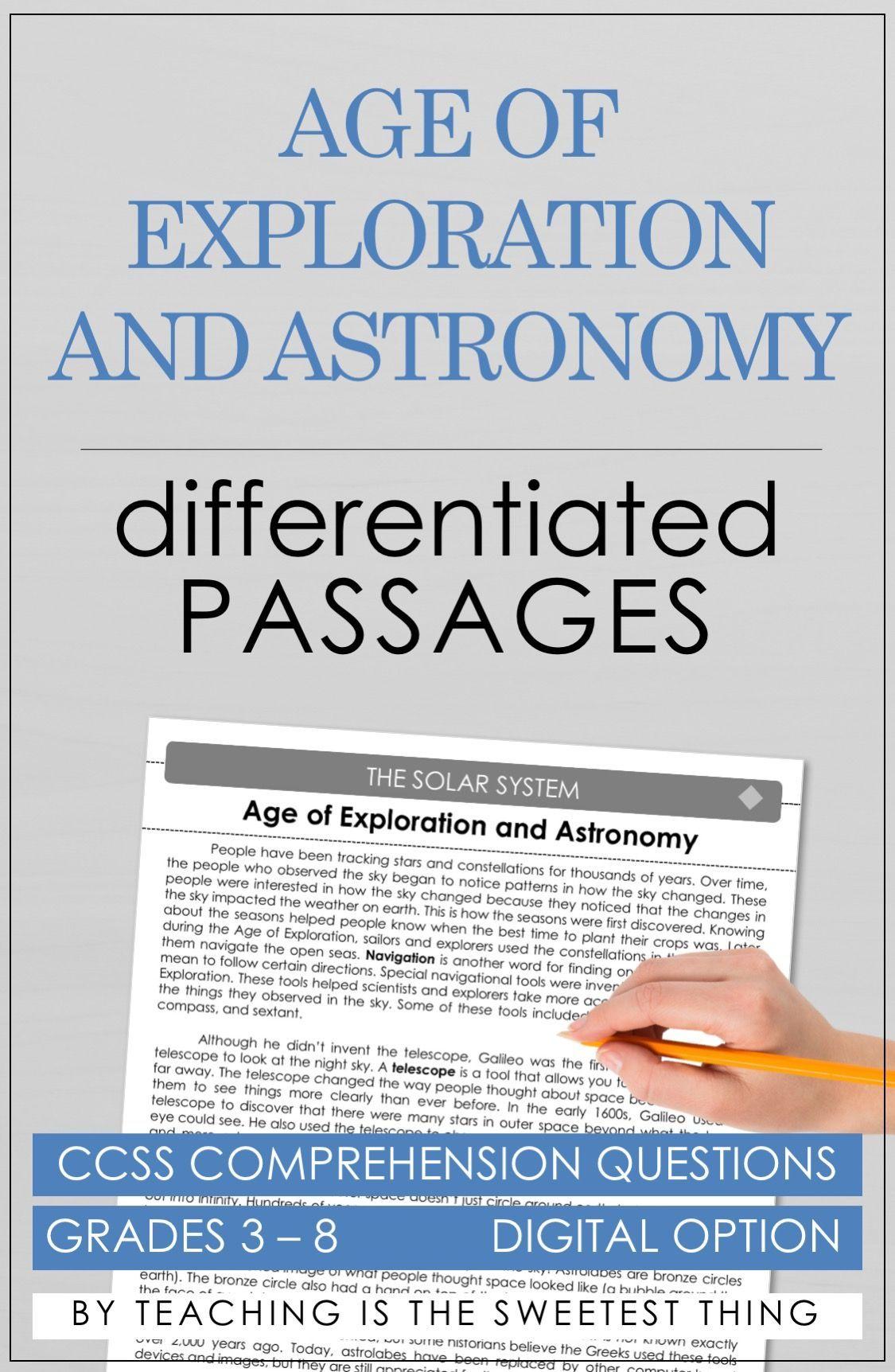 Solar System Passages