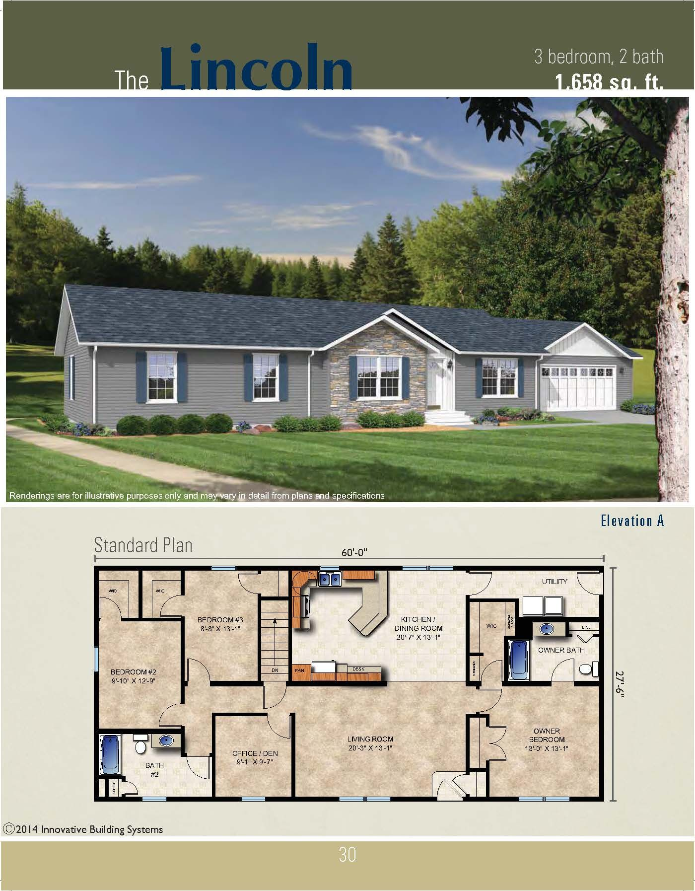 The Lincoln Ranch Plan | Ranch house plans, Dream house ... on ranch style house plans with open floor plan, new ranch home style, new construction home floor plan, new ranch home construction, new ranch house plans,