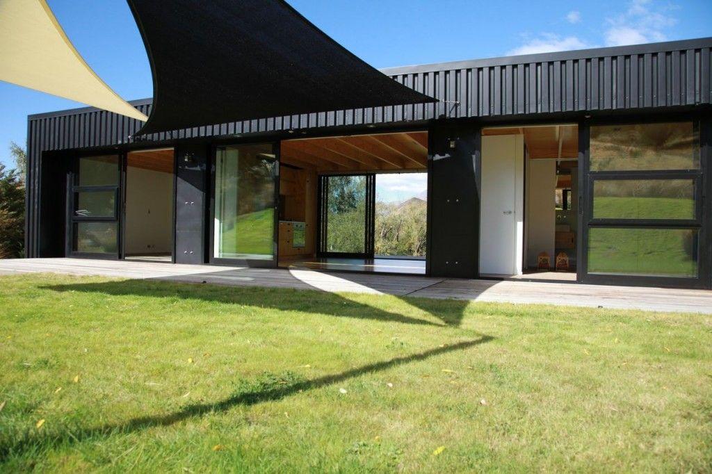 Steel Frame Transportable Prefab Home By Bachbox New Zealand