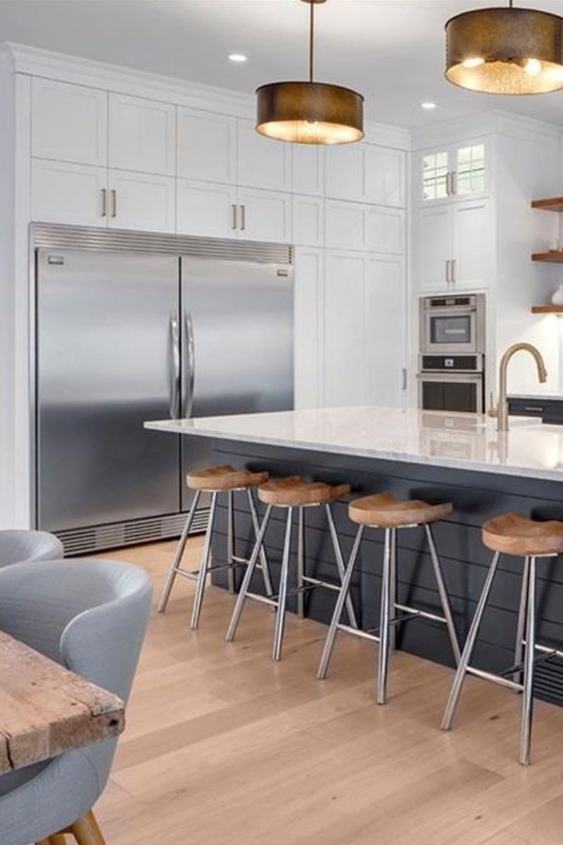 Kitchen With Island Ideas Pinterest   Brainly