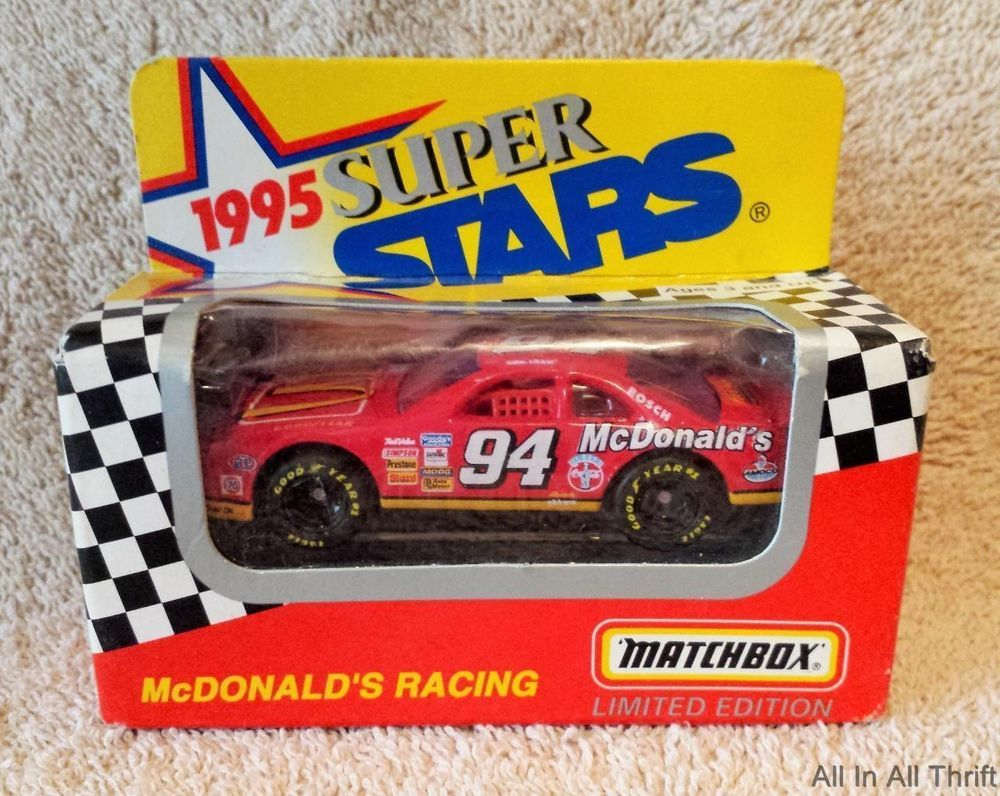 1995 Series II Matchbox Limited Edition McDonald's Bill