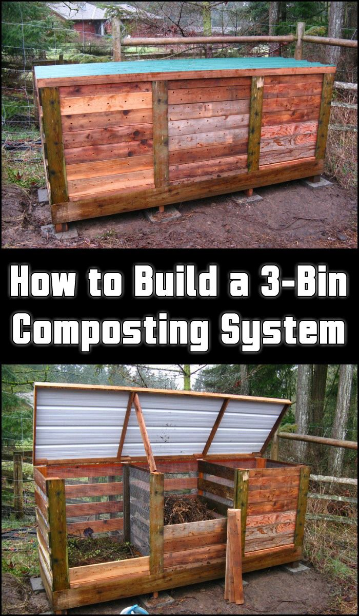 Compost Bin You Can Build Yourself In One Day Pallet Compost Bin