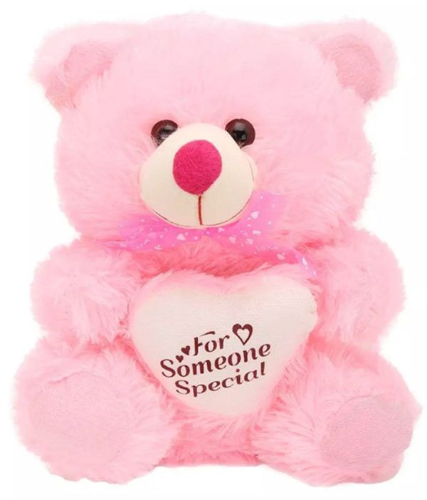 Pink Color Teddy Bear With Hat 24 Inches