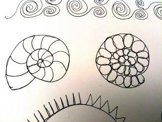 A Few Scraps: Free Motion Quilting Designs: Spirals