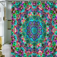 DENY Designs Home Accessories | Lisa Argyropoulos Inspire Oceana Shower Curtain