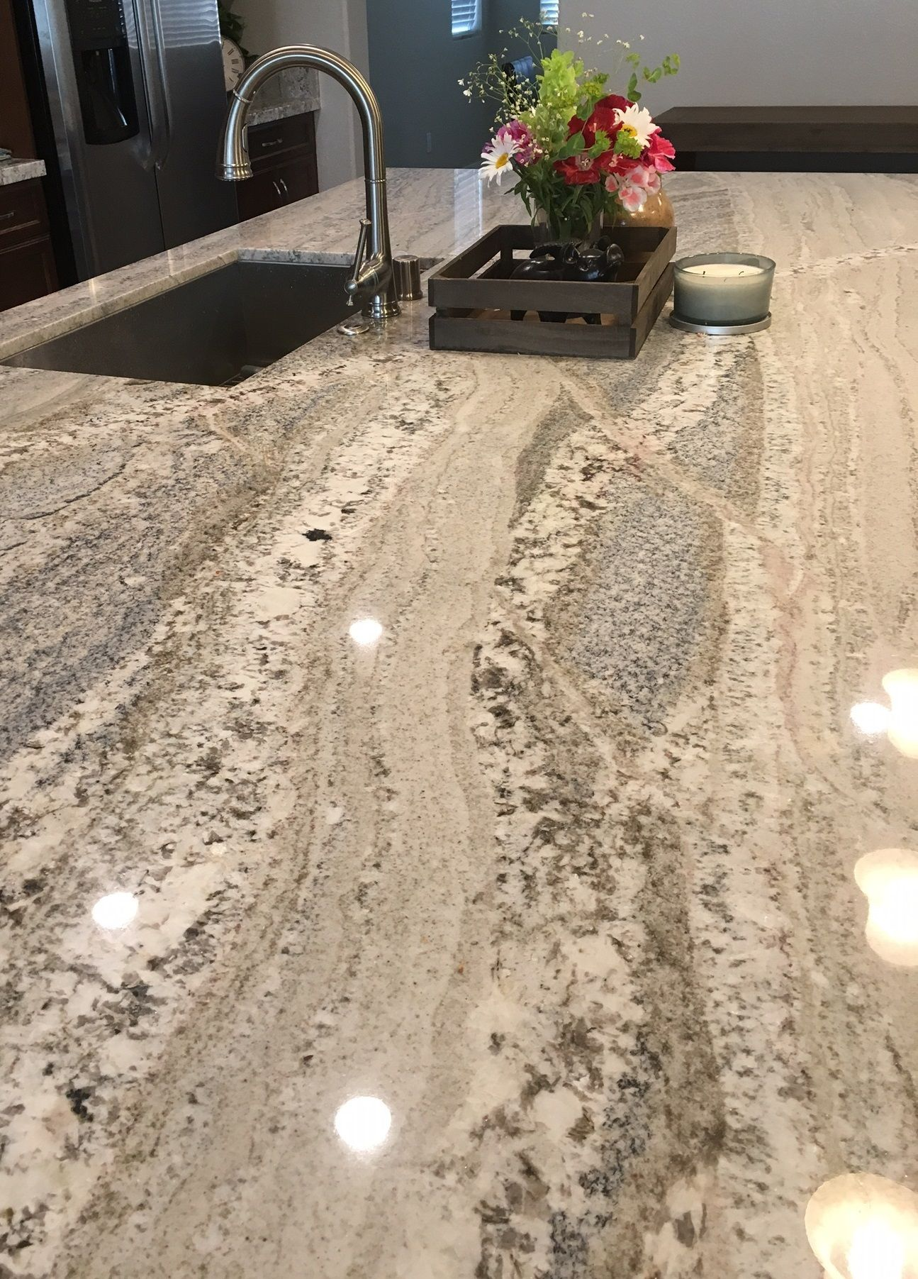Monte Cristo Natural Stone Granite Slabs Arizona Tile Granite Countertops Kitchen Kitchen Remodel Countertops Replacing Kitchen Countertops