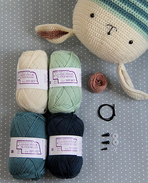 Yarn Pack for Honey Bunny Crocheted Softie BOY