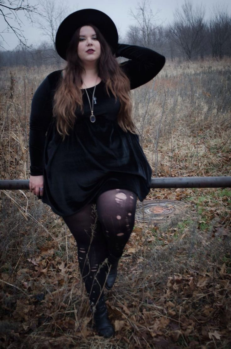 Plus size gothic clothing u the mystery of the dark photoshoot