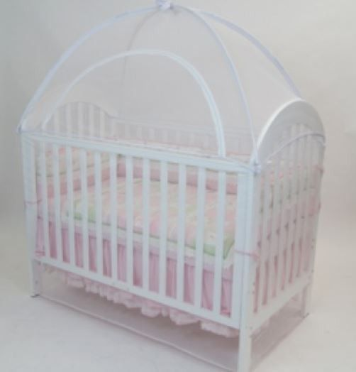 The Babyhood Cot Canopy Net offers safety for baby while sleeping in a cot by keeping unpleasant insects and pets away - On Sale Now Act Fast & Babyhood Canopy Net Large White - 135 x 80cm | Baby Stuff ...