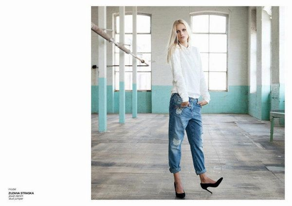 Bershka Lookbook de Octubre con Zuzana Straska
