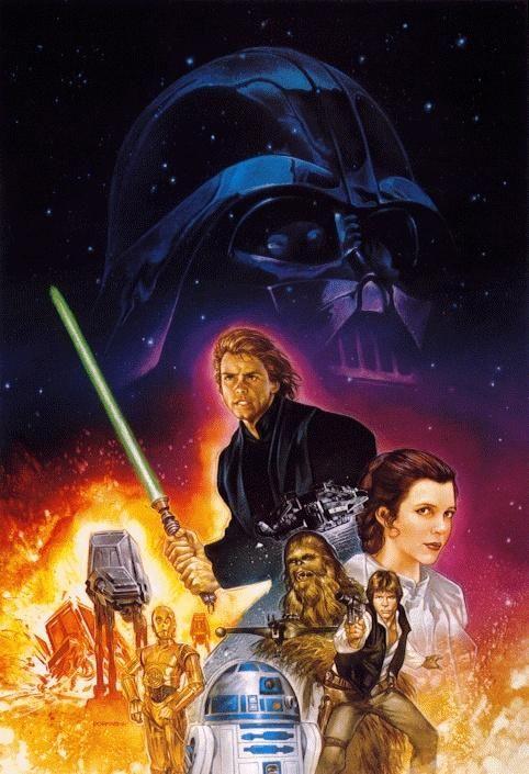 Return Of The Jedi Artwork | Princess of Alderaan ...