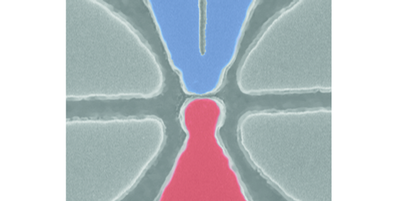 In a step toward the conversion of excess heat into electric current, researchers demonstrate a device that generates current in response to voltage fluctuations that mimic heat.