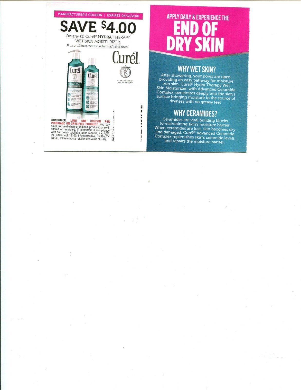 Curel hydra therapy wet skin moisturizer discount savings