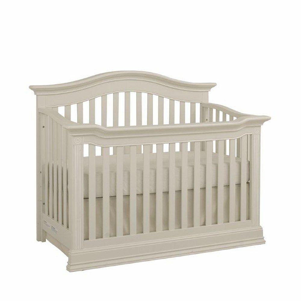 Baby Cache Montana Lifetime Crib Glazed White Cribs Baby Cache Baby Cribs